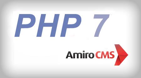 Амиро (Amiro.CMS) и php7
